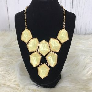 "Jewelry - 🔥7🔥Women's yellow & gold 21"" statement necklace"